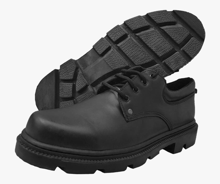 Zapato Industrial De Cuero Antideslizante.