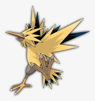 Zapdos PNG.