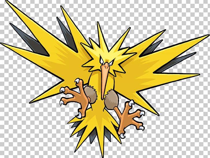 Pokémon GO Legendary Bird Trio Zapdos PNG, Clipart, Animals.