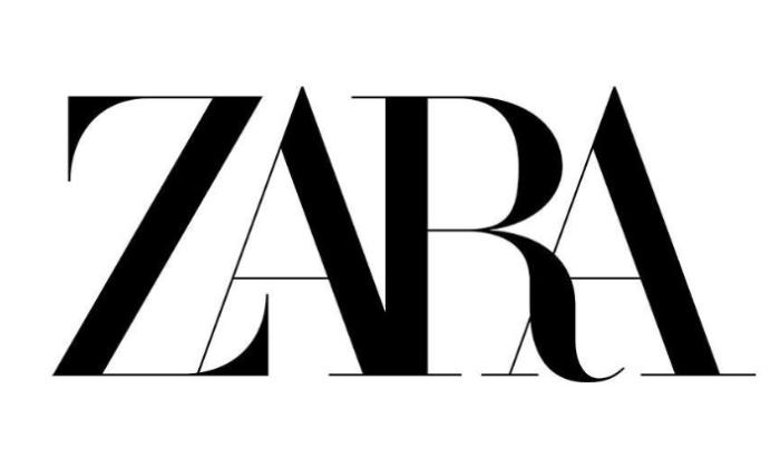 Zara fashions new look with logo change.