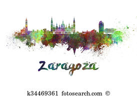 Zaragoza Clip Art and Stock Illustrations. 49 zaragoza EPS.