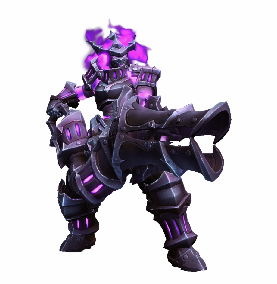 Zarya Infernal Knight Skin Heroes Of The Storm Patch.