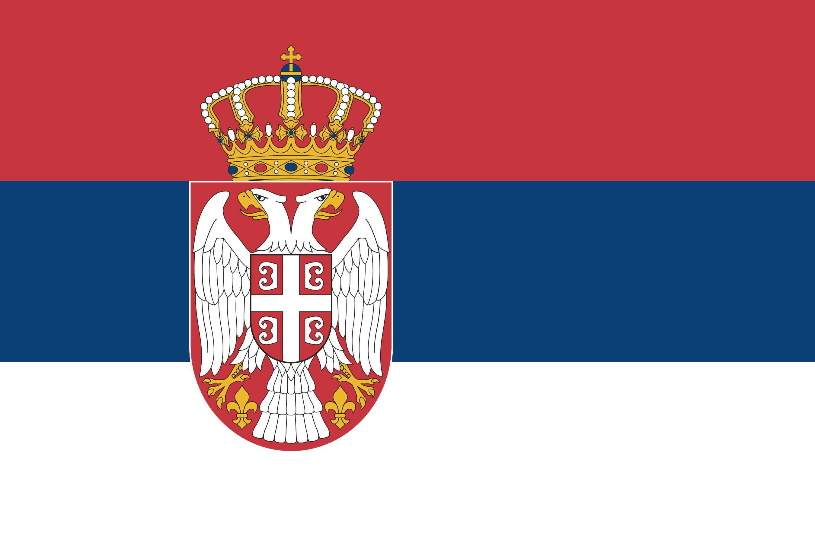 Zastava Srbije Vector EPS Free Download, Logo, Icons, Clipart.