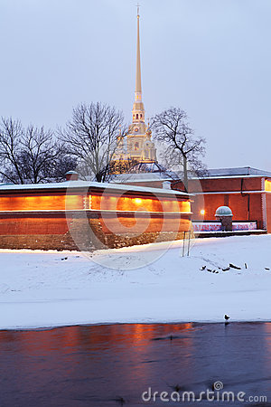 Peter And Paul Fortress, St. Petersburg, Russia Editorial Image.