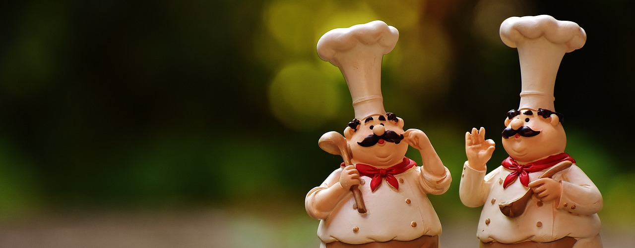 Chefs,figures,funny,cook,gastronomy.
