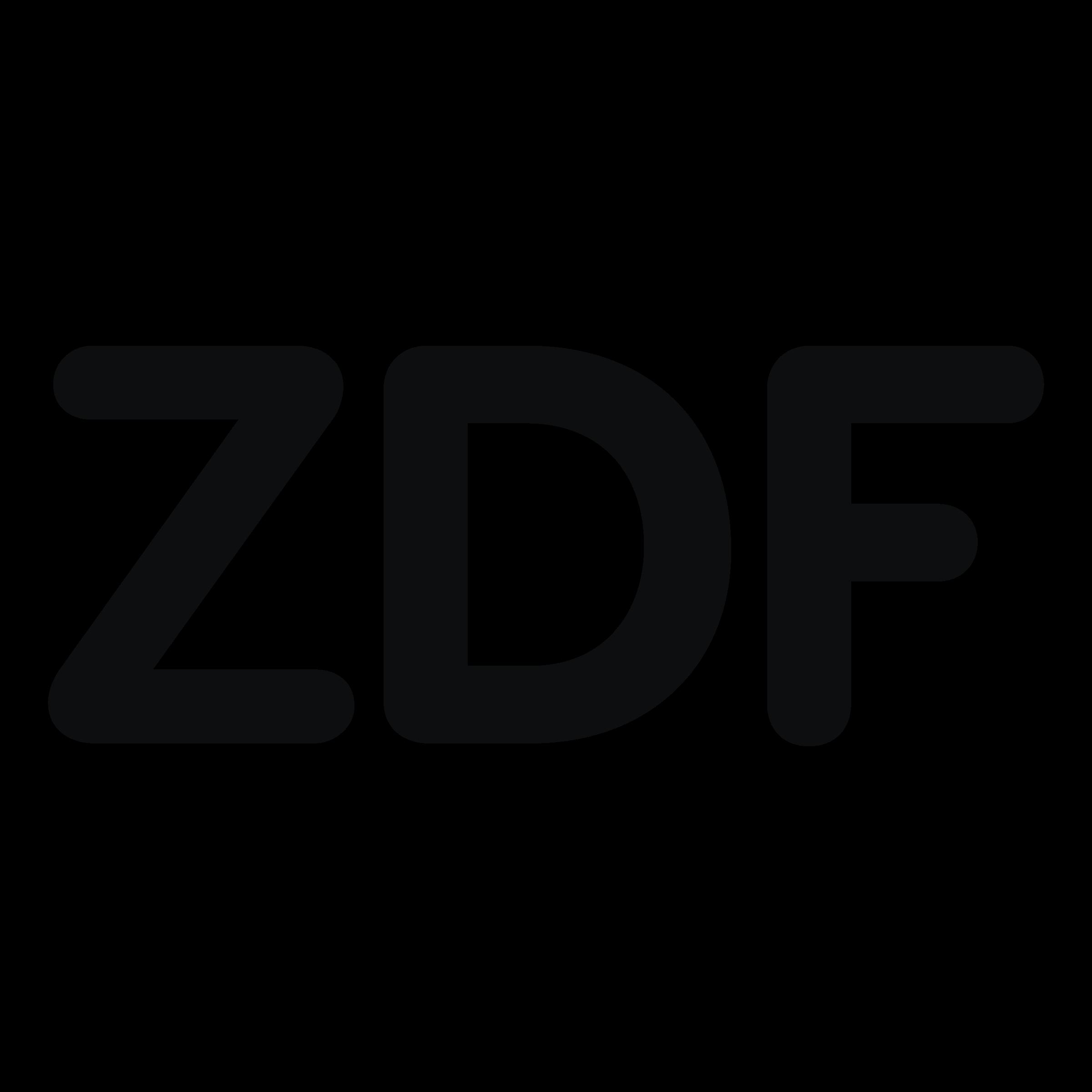 ZDF Logo PNG Transparent & SVG Vector.