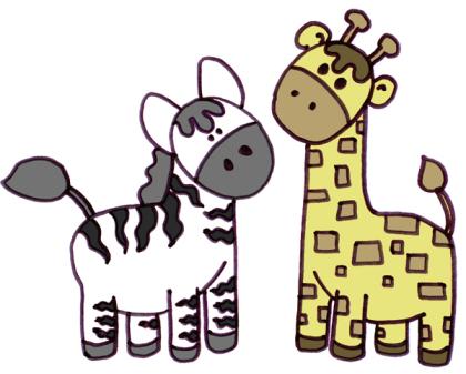 why zebras and giraffes stay together?.