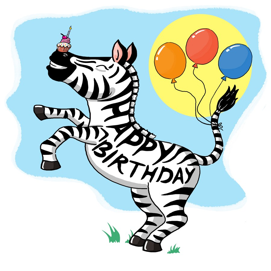 Zebra Balloon Decorations