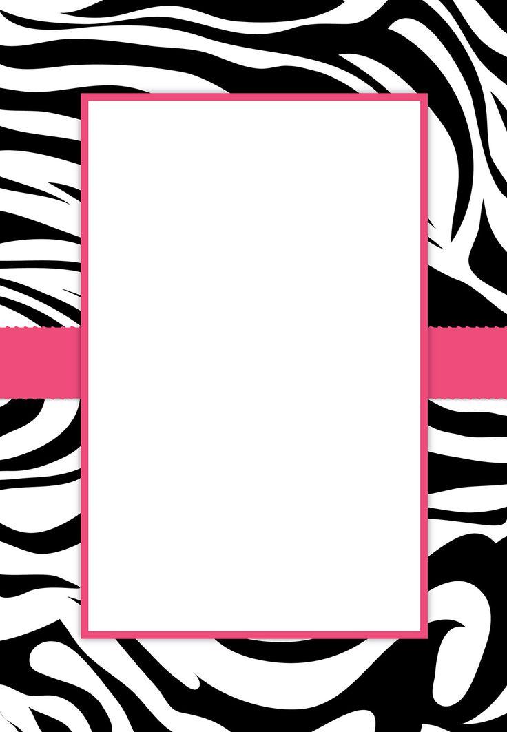 Zebra Print Clip Art Free.