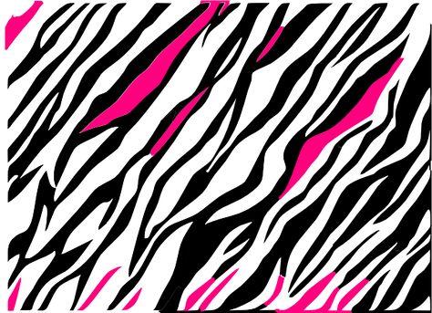 Black And White Zebra Print Background Clip Art at Clker.com.