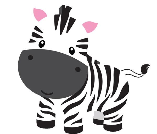 Baby Zebra Clipart.