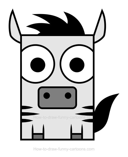 Zebra clipart.