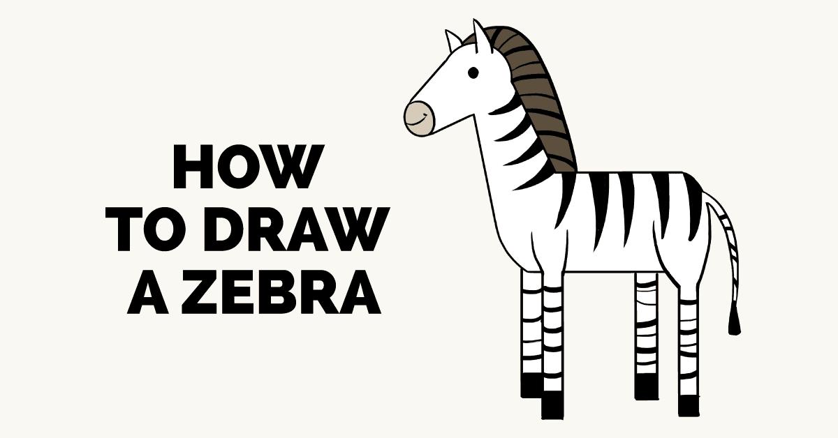 How to Draw a Zebra.