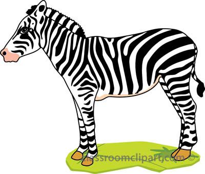 Zebra Clipart For Kids.