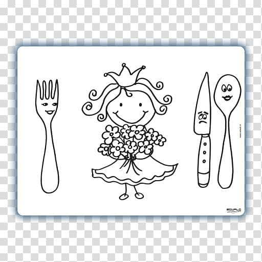 Place Mats Cutlery Child Line art Color, zoe zebra.