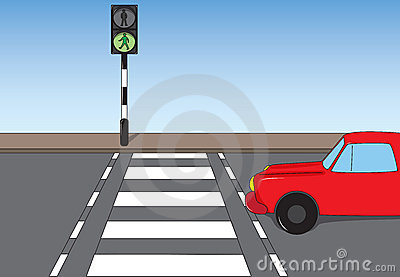 Clipart zebra crossing.