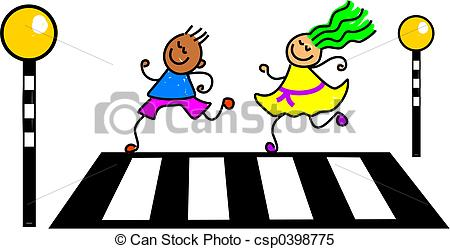 Zebra crossing Stock Illustrations. 461 Zebra crossing clip art.