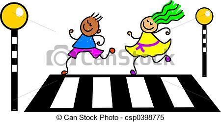 Zebra crossing Stock Illustrations. 461 Zebra crossing clip art.