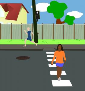 Pedestrian Crossing Clip Art Download.