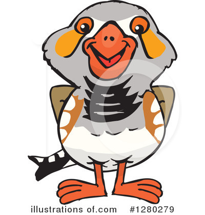 Zebra Finch Clipart #1280279.