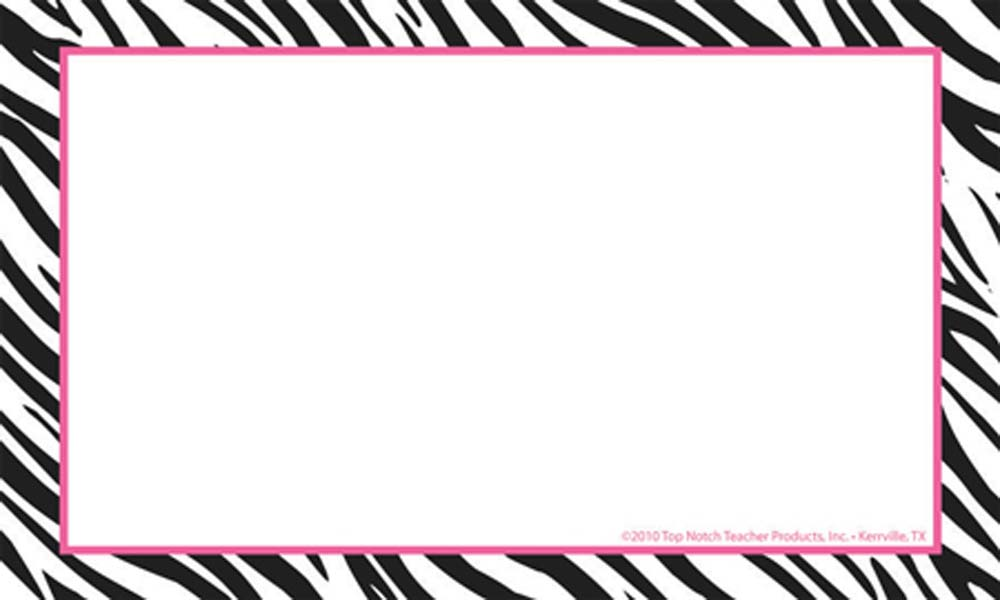 Free Zebra Border Template, Download Free Clip Art, Free Clip Art on.