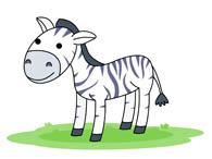 Free Zebra Clipart.