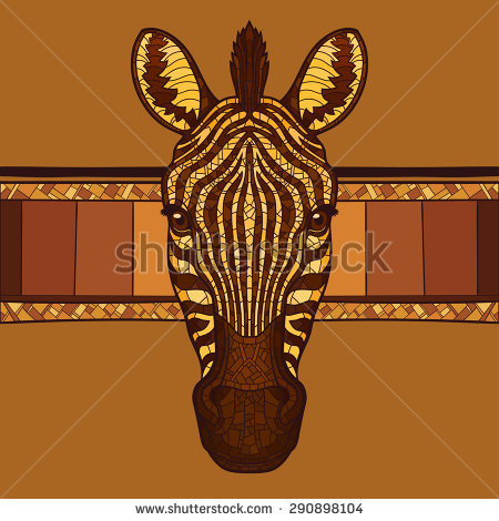 Zebra Head Stock Images, Royalty.