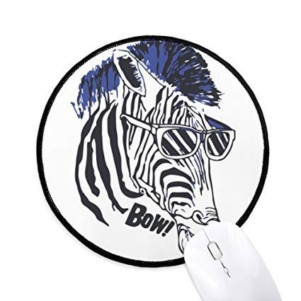 Amazon.com : Cool Zebra Sunglasses Animal Round Non.