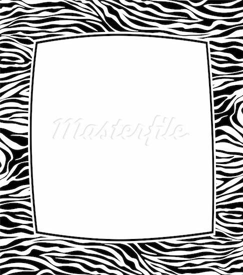 93+ Zebra Border Clip Art.
