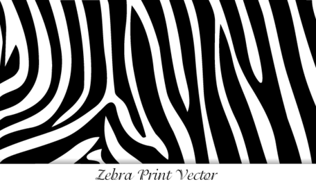 Free Zebra Print Clipart and Vector Graphics.