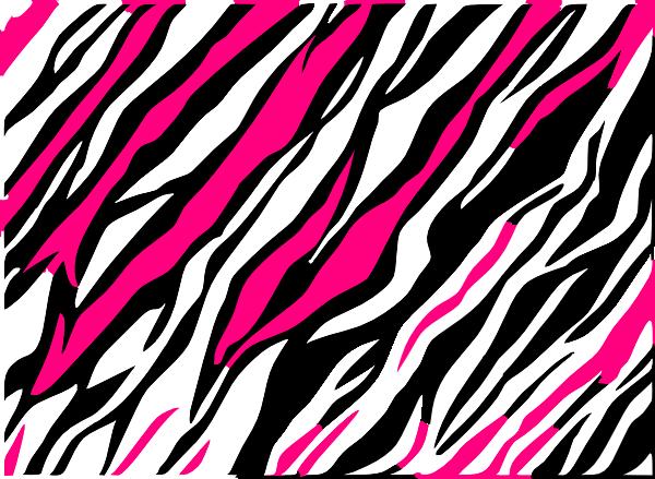 Purple Zebra Print Background.