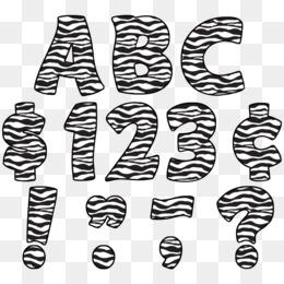 Zebra Print PNG.