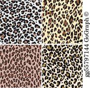 Leopard Print Clip Art.