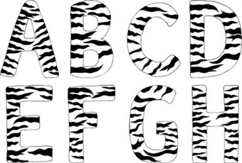 Free Zebra Print Stencil Printable, Download Free Clip Art, Free.