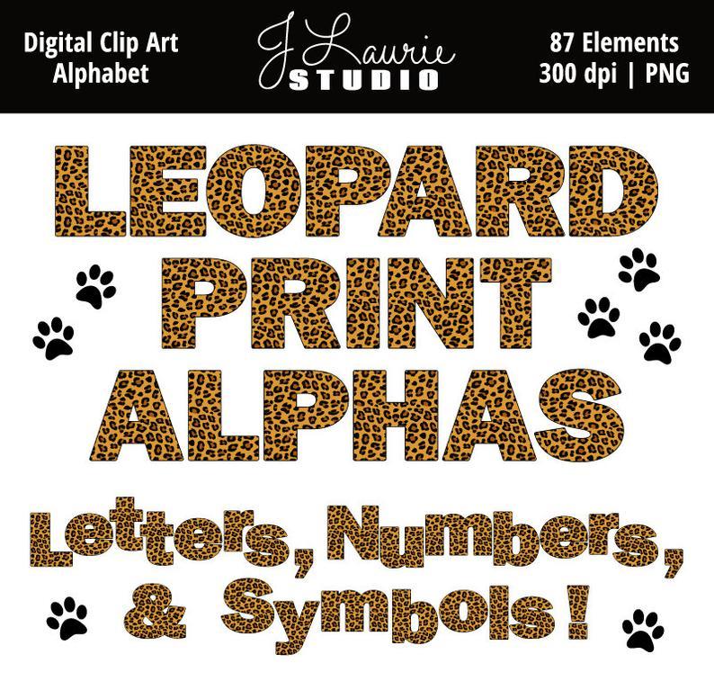 Digital Alphabet Letters Clipart.