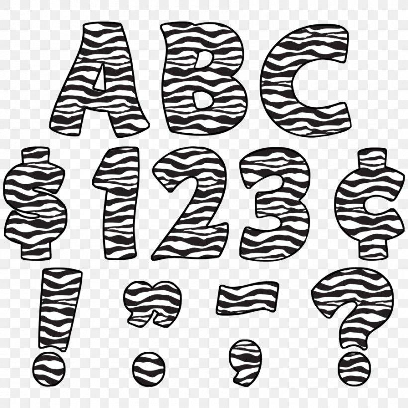 Letter Case Animal Print Alphabet Zebra, PNG, 900x900px.