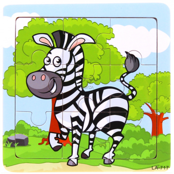 Animal Wooden Puzzles for Kids.