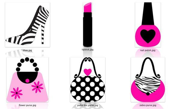 Girly Diva Clipart.