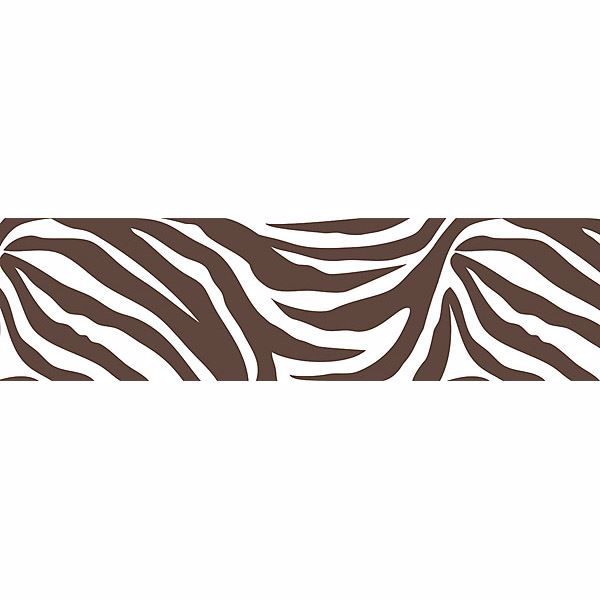 Animal Instinct Stripe Wall Border Decals.