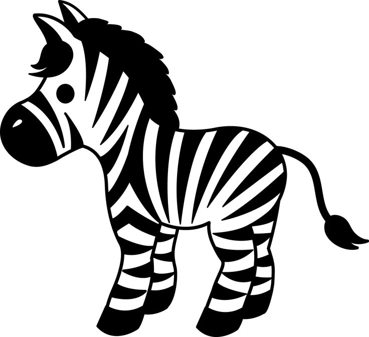 Zebra Stripes Clipart