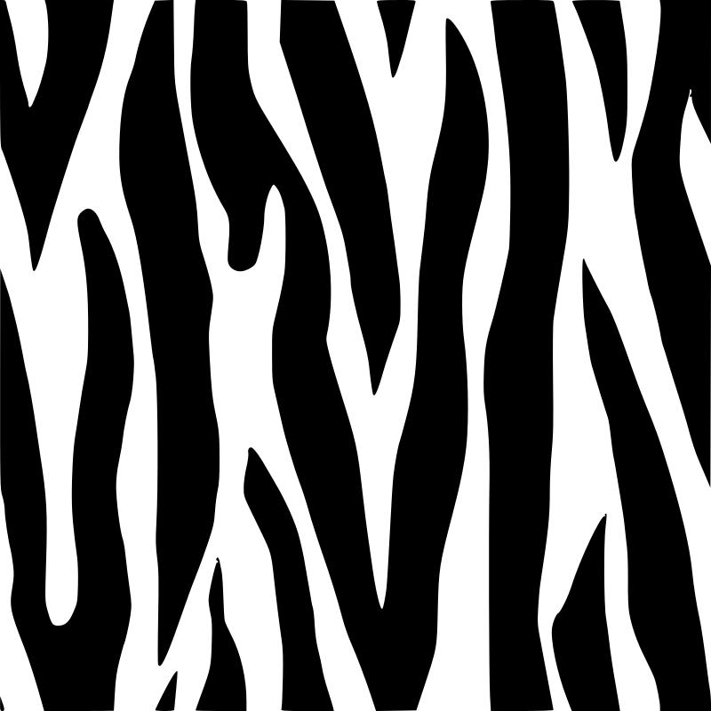 Zebra Pattern Clipart.