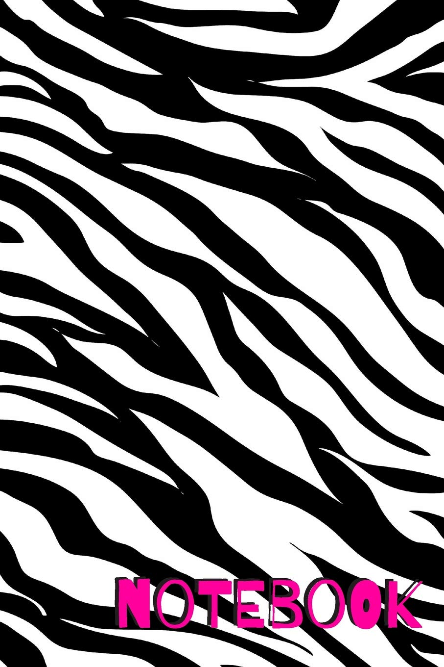 Amazon.com: Notebook: Journal / Notebook With Zebra Stripes.
