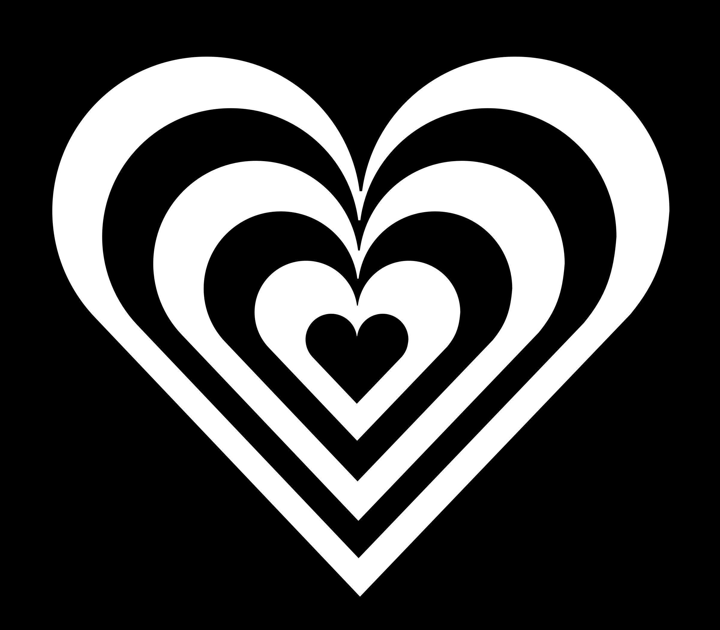 zebra heart by 10binary.