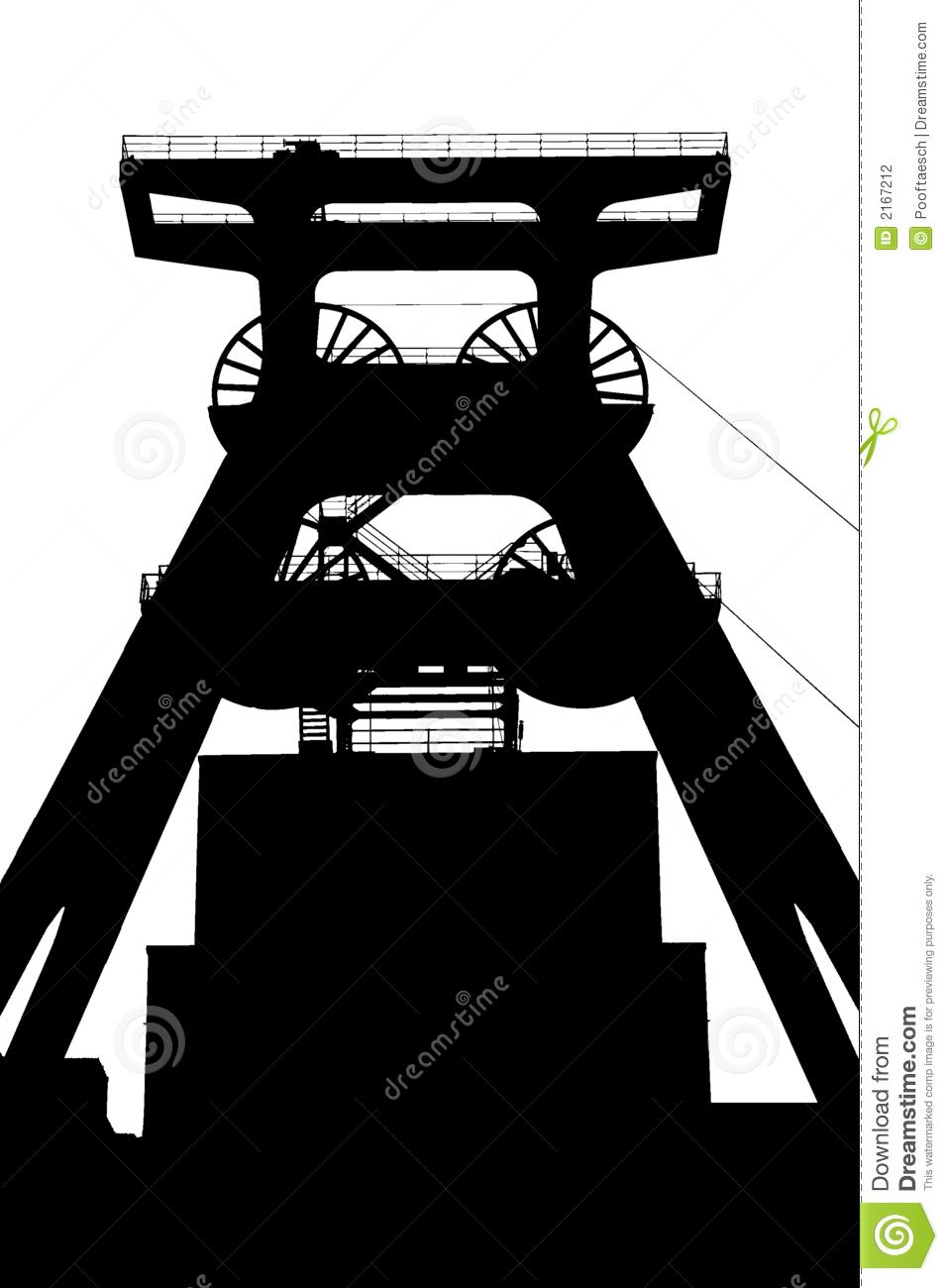 Zeche Zollverein Stock Photography.
