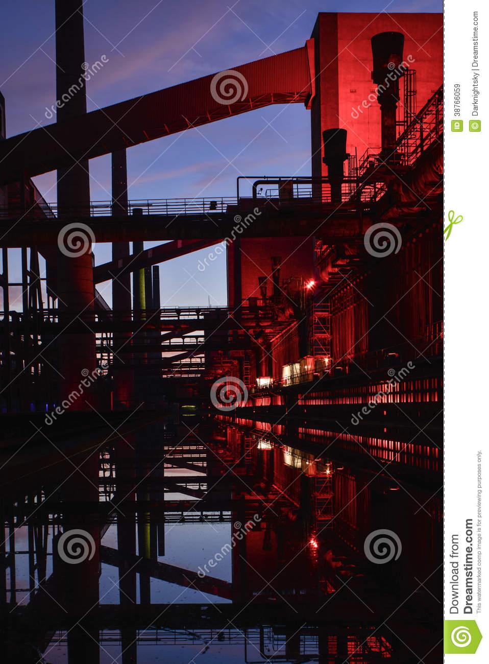 Zeche Zollverein Royalty Free Stock Images.