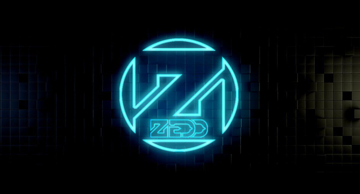 3D Logo Zedd Wallpaper.