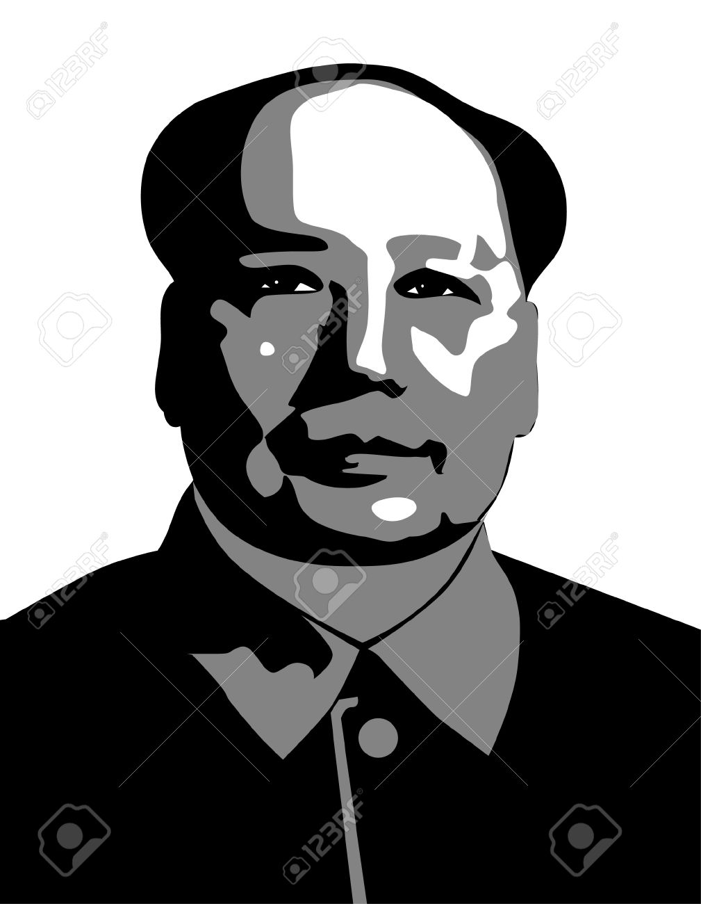 Mao Tse Tung Royalty Free Cliparts, Vectors, And Stock.