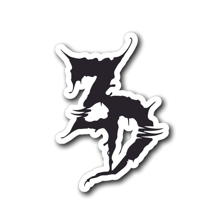 Zeds Dead Logo Sticker.