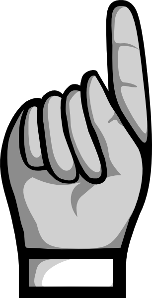 Hand 8 Clip Art at Clker.com.