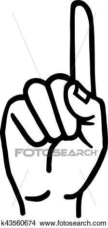Zeigefinger clipart 1 » Clipart Portal.